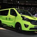 Opel Vivaro Life Makes Camper Vans Look Cool In Frankfurt Autoevolution
