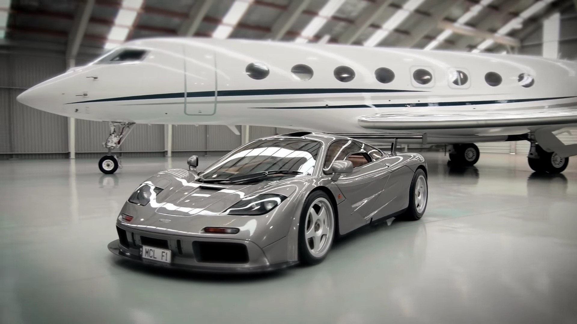 Elon Musk Car In Spac Wallpaper Owner Shows Off His One Of Two Mclaren F1 High Downforce