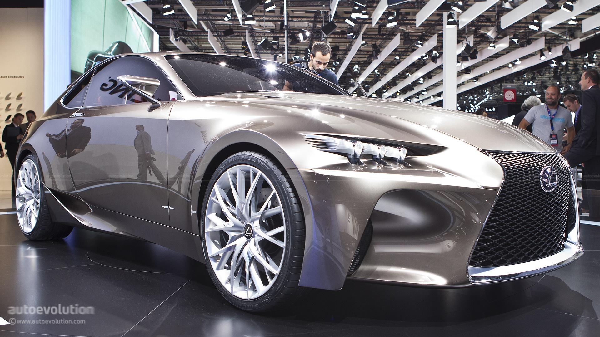Paris 2012 Lexus Ls Cc Concept Live Photos Autoevolution