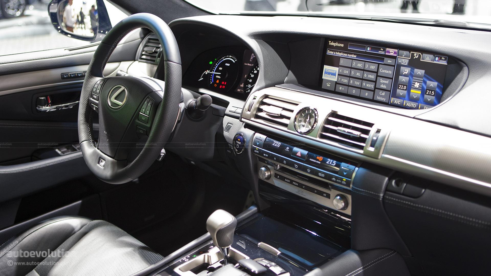 Paris 2012 Lexus LS600h Live Photos Autoevolution