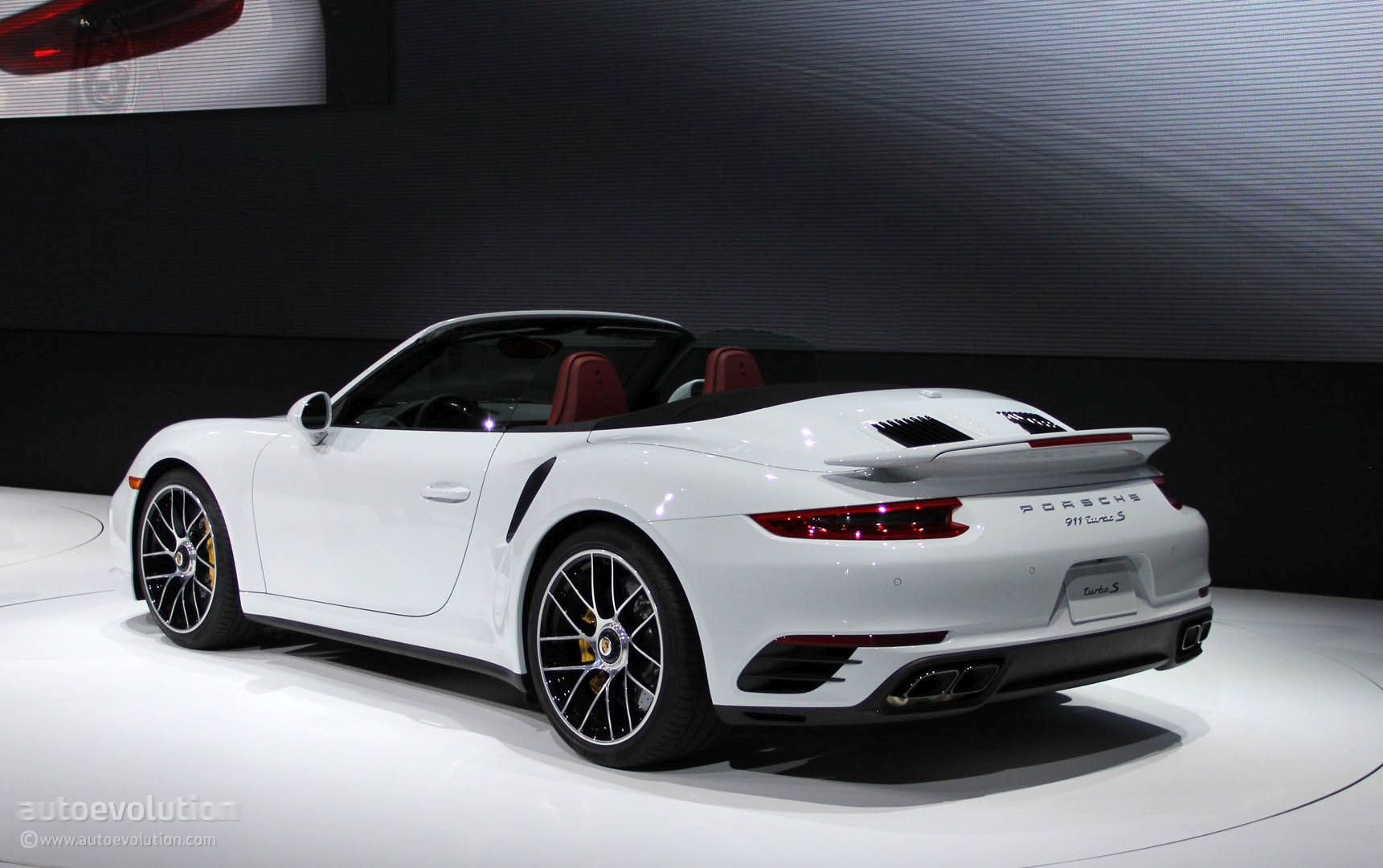Porsche 911 Turbo On Snow Tracks Rendered As The All