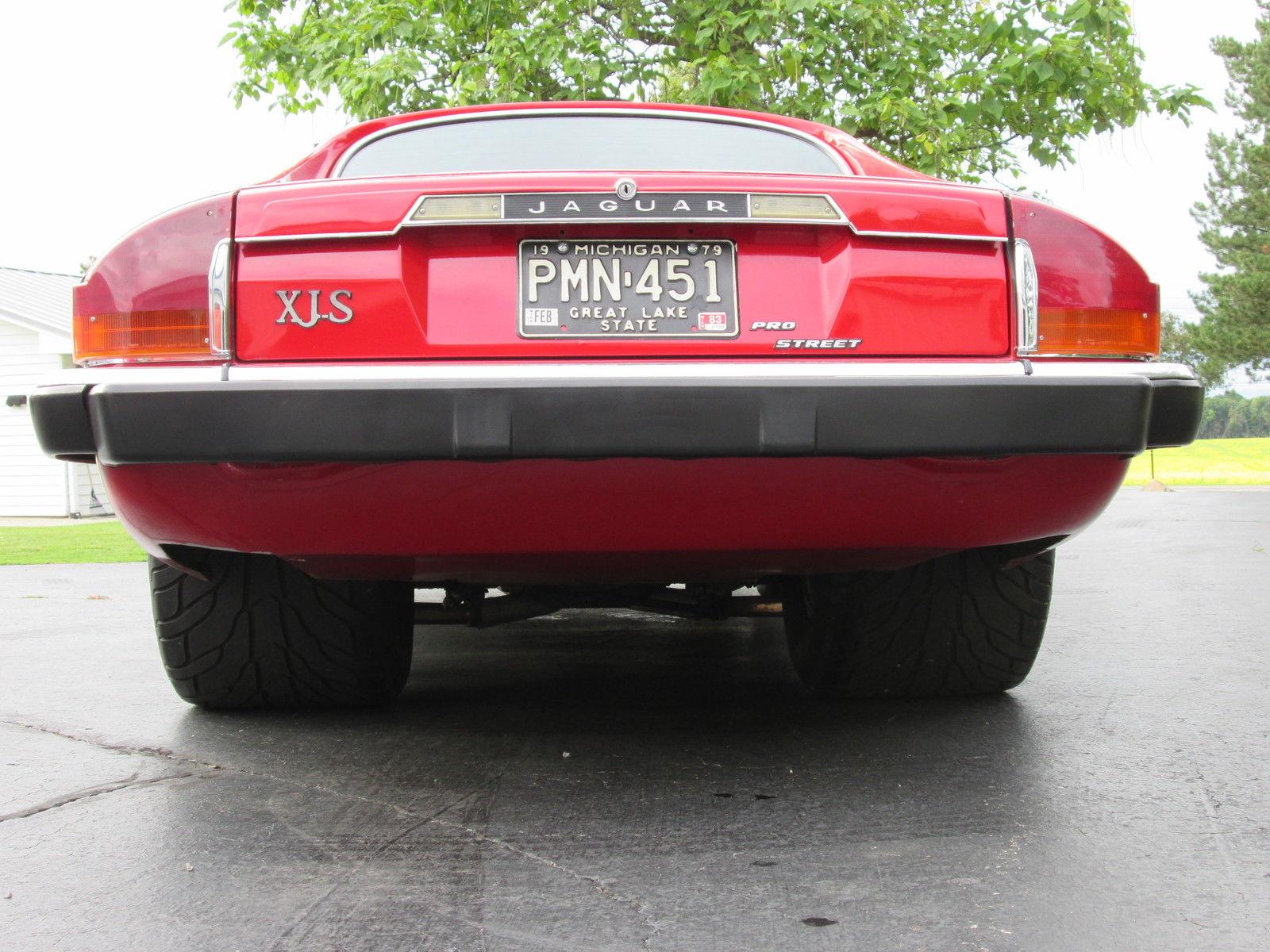 Pro Street Jaguar Xjs Is Street Legal Powered By Blown Chevrolet V8