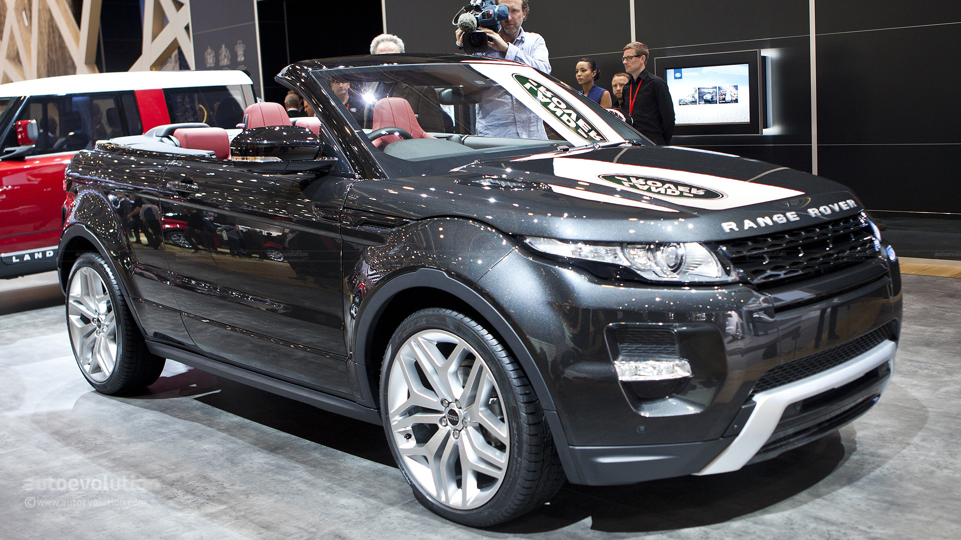 Range Rover Evoque Cabrio Could Be Ready in 2015 autoevolution