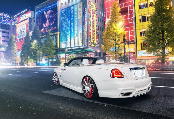 Rolls Royce Dawn With Forgiato Wheels And Wald Kit Is Japanese Magic