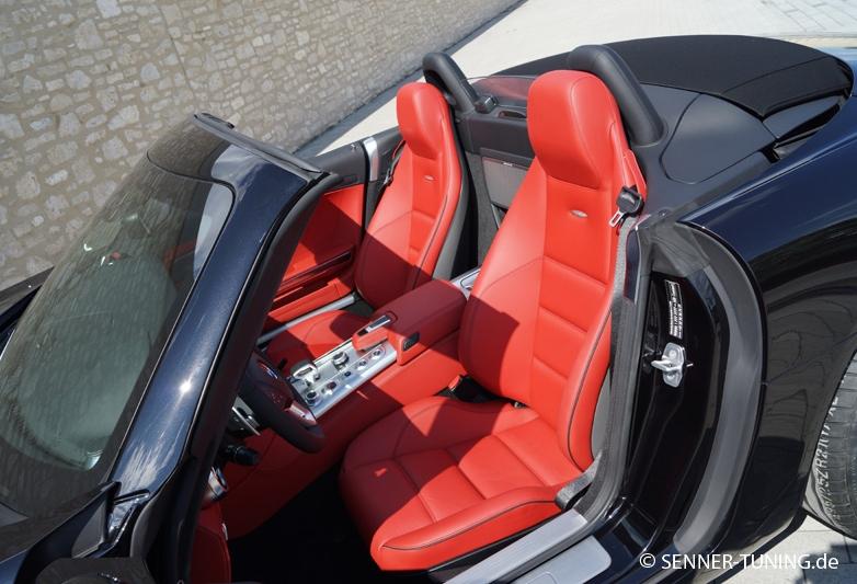 mercedes benz sls63 amg roadster 1