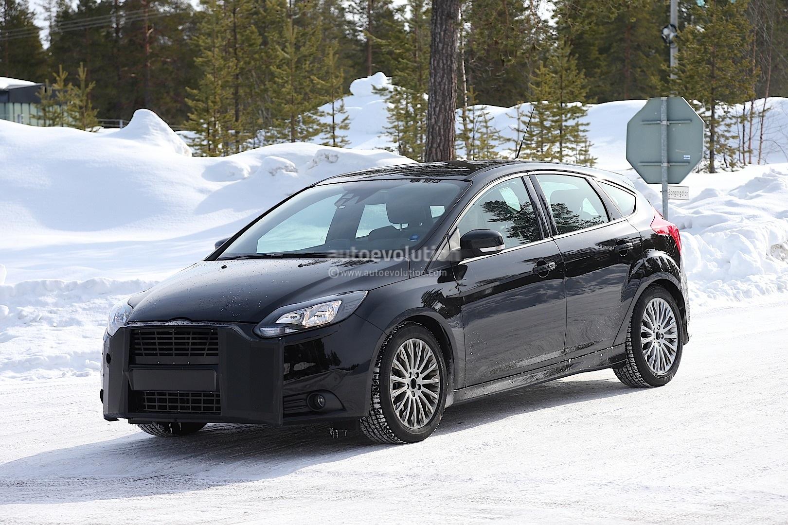 Spyshots: 2015 Ford Focus RS - autoevolution