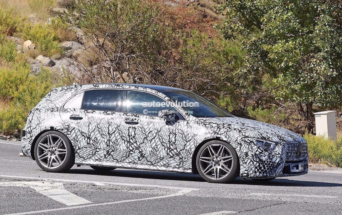 spyshots: 2019 mercedes-amg a45 looks ready to dethrone the audi rs3