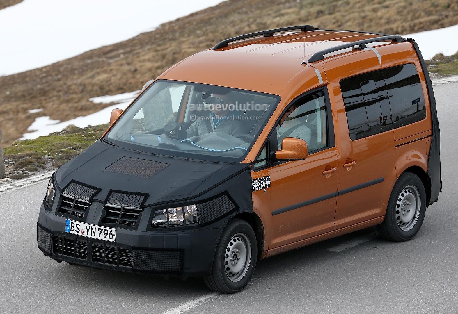 Spyshots New Volkswagen Caddy Interior Revealed