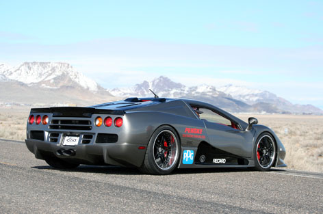 SSC Ultimate Aero Worlds Fastest Production Car For