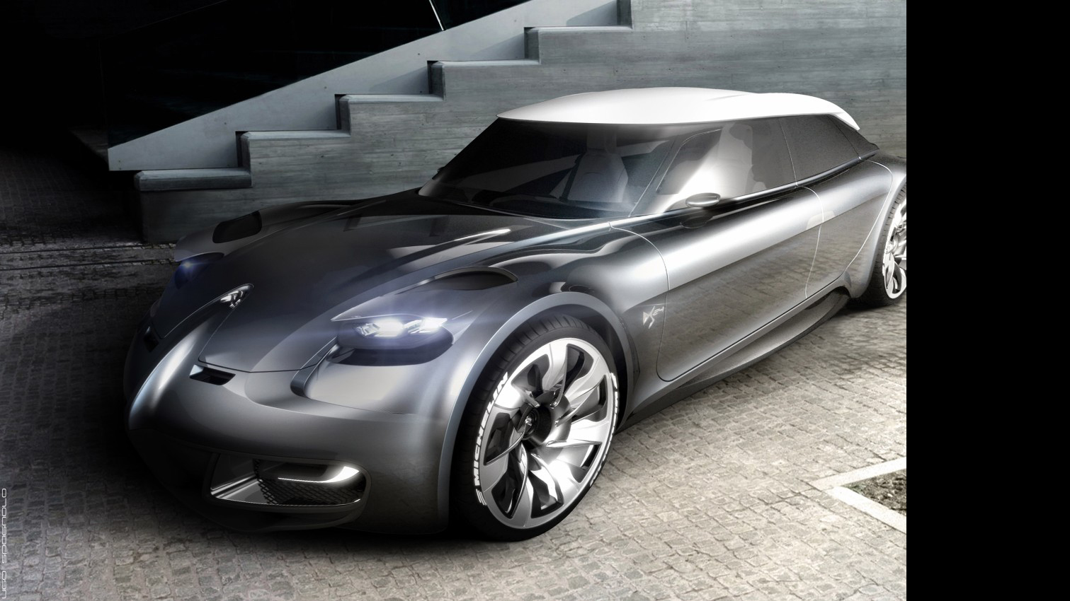 Student Creates Stunning Citroen Ds Design For The Year