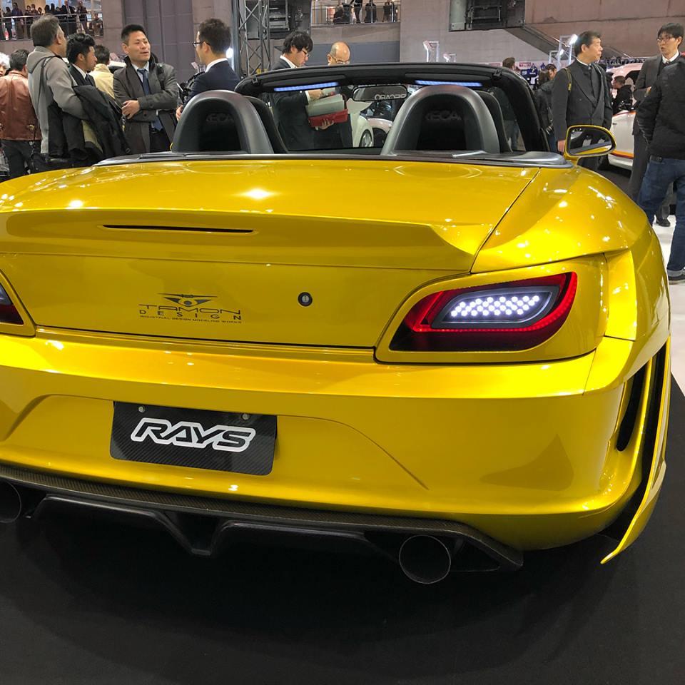 hight resolution of  tamon design concept honda s2000 bodykit