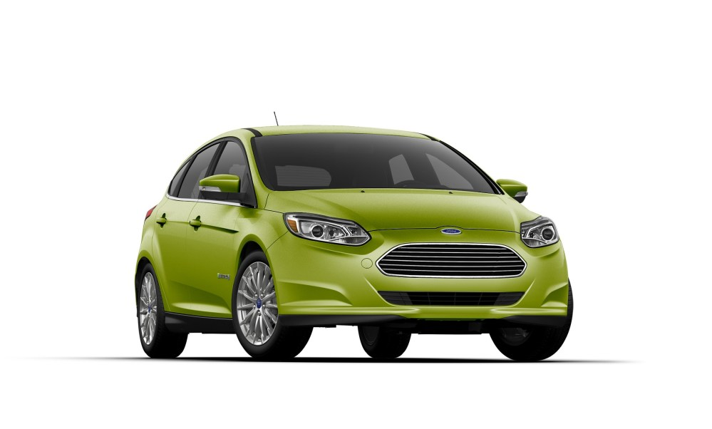 medium resolution of 2018 ford focus electric in outrageous green metallic paint