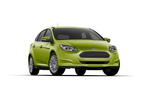 small resolution of 2018 ford focus electric in outrageous green metallic paint