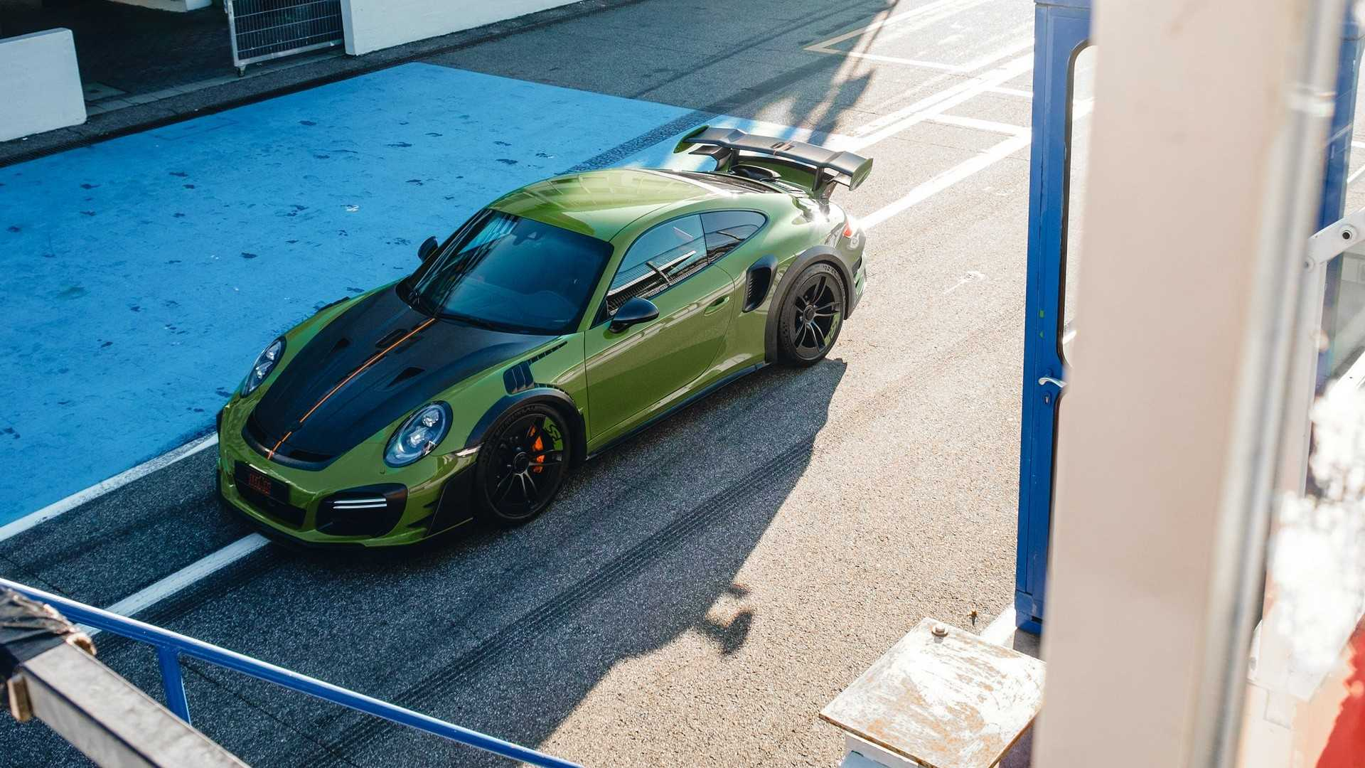 Techart Gt Street Rs Arrives In Geneva As Forged Carbon 991 Turbo