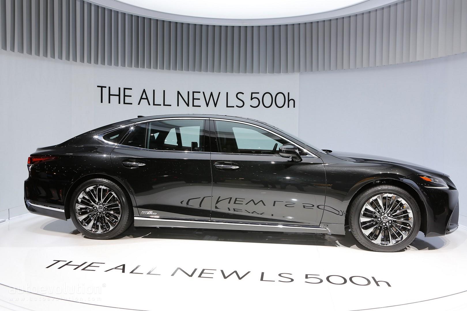 all new vellfire 2018 grand avanza 2016 tipe g the lexus ls 500h gets revealed in geneva