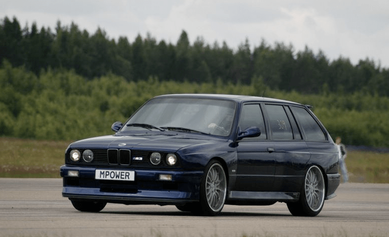 1989 bmw e30 radio wiring diagram how to wire an alternator the legend is true here s a 4 door m3 autoevolution touring
