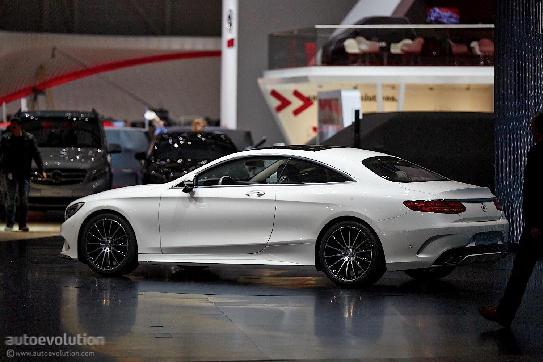 The Mercedes Benz S Class Coupe C217 Reaches Geneva