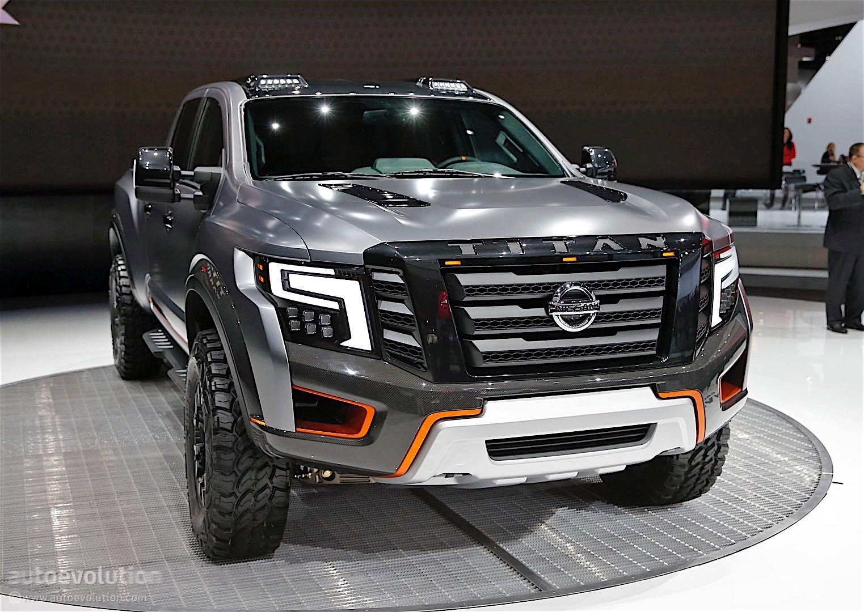 The Nissan Titan Warrior Concept Could Enter Production  autoevolution