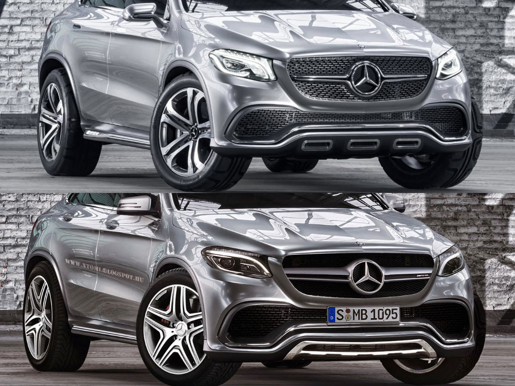 This Is How The Mercedes Benz MLC 63 AMG Might Look