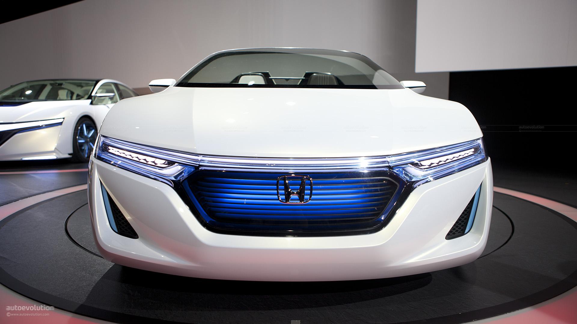 Tokyo 2011 Honda Ev Ster Small Electric Sports Concept Live Photos
