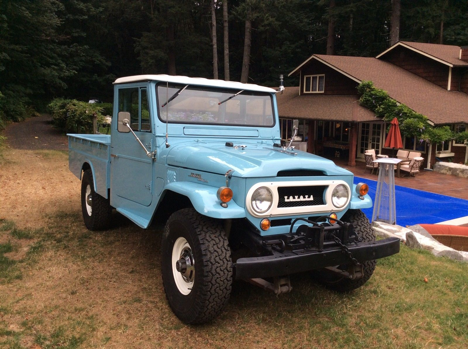 hight resolution of top condition toyota land cruiser fj45 pickup waiting for you