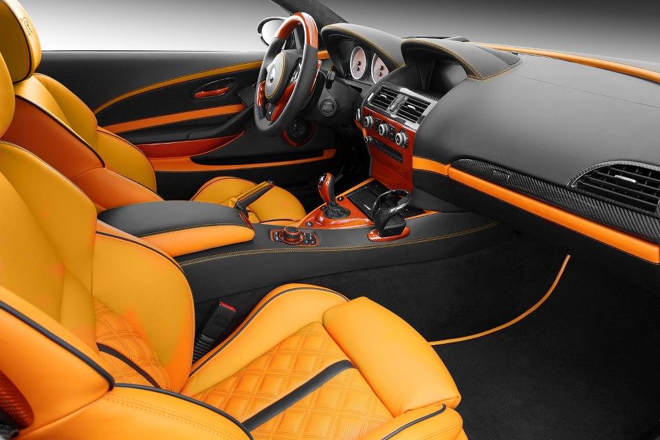 TopCar BMW E63 M6 Is Orange Autoevolution