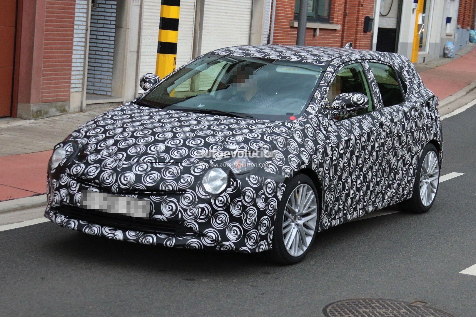 interior all new camry 2016 toyota yaris trd 2012 bekas 2019 corolla hatchback spied with production body ...