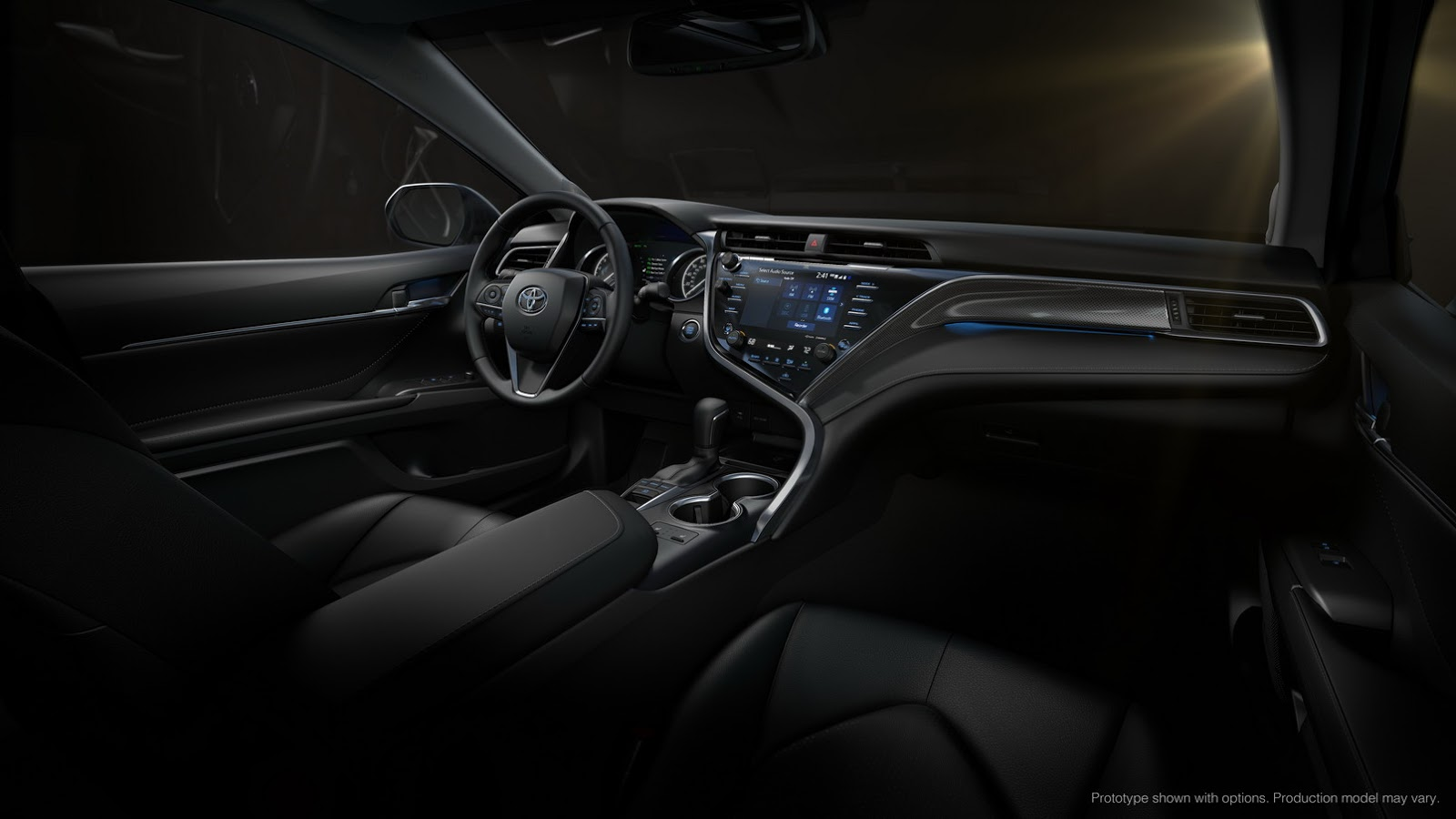 all new camry 2019 interior agya trd 1.2 toyota returns to europe in with hybrid power