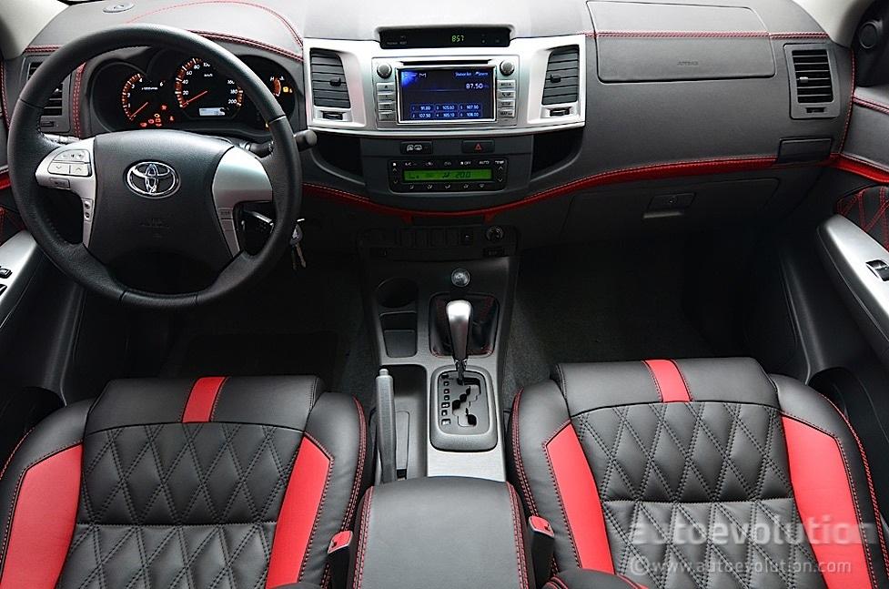 Toyota Hilux Gets Luxury Interior from Carlex  autoevolution