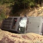 Toyota Land Cruiser 80 Series Off Road Fail Not As Invincible As Legend Has It Autoevolution