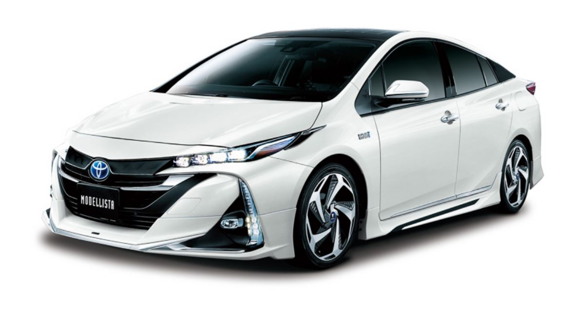 Toyota Prius Prime Plug In Gets Tuned By TRD And