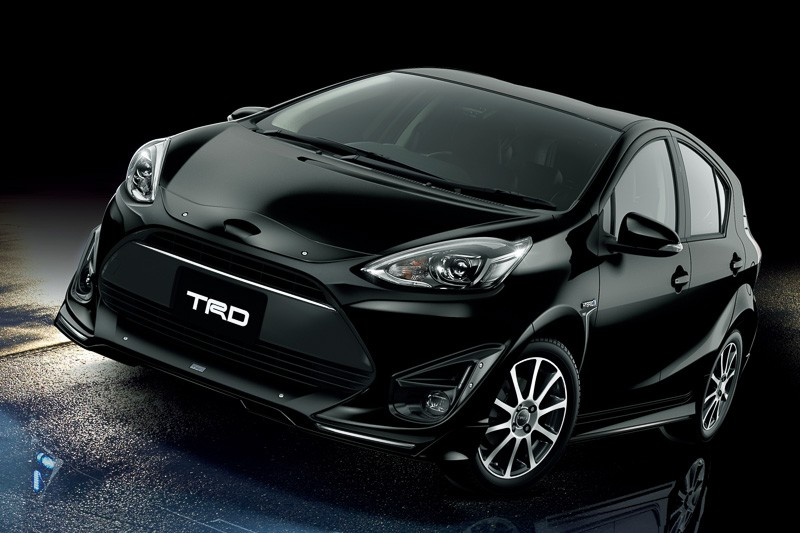 Toyota Reveals 2017 Aqua With TRD And Modellista Kits In