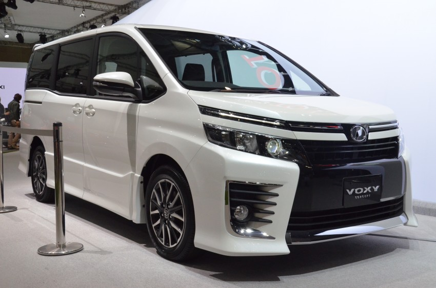 all new toyota alphard 2018 indonesia dimensi grand avanza 2016 voxy showing off at 2013 tokyo show - autoevolution