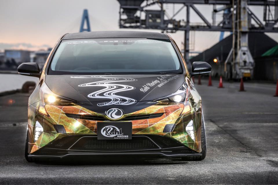 Tuned 2016 Prius With Quad Exhaust And Leather Wrap Looks