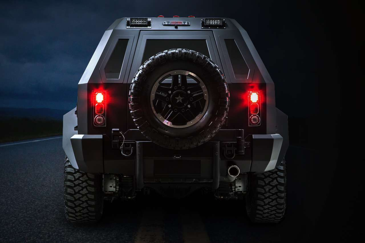US Specialty Vehicles Rhino GX Sport Is A Bigger Than Full