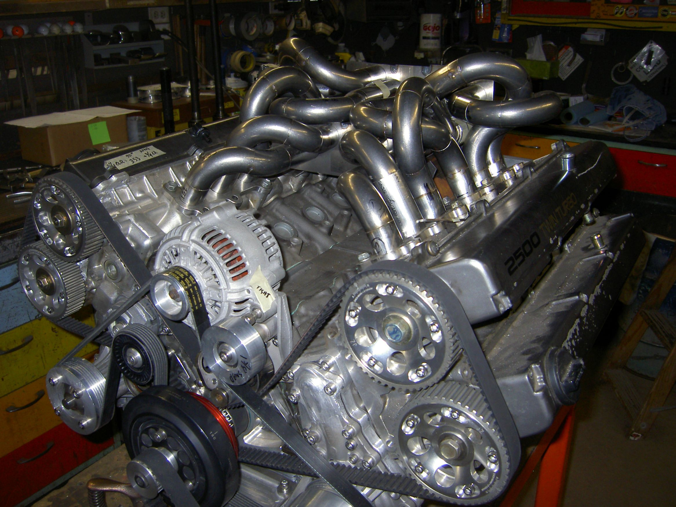 Bmw 740i Engine Diagram V12 Built By Joining Two Toyota Supra Engines A Retired