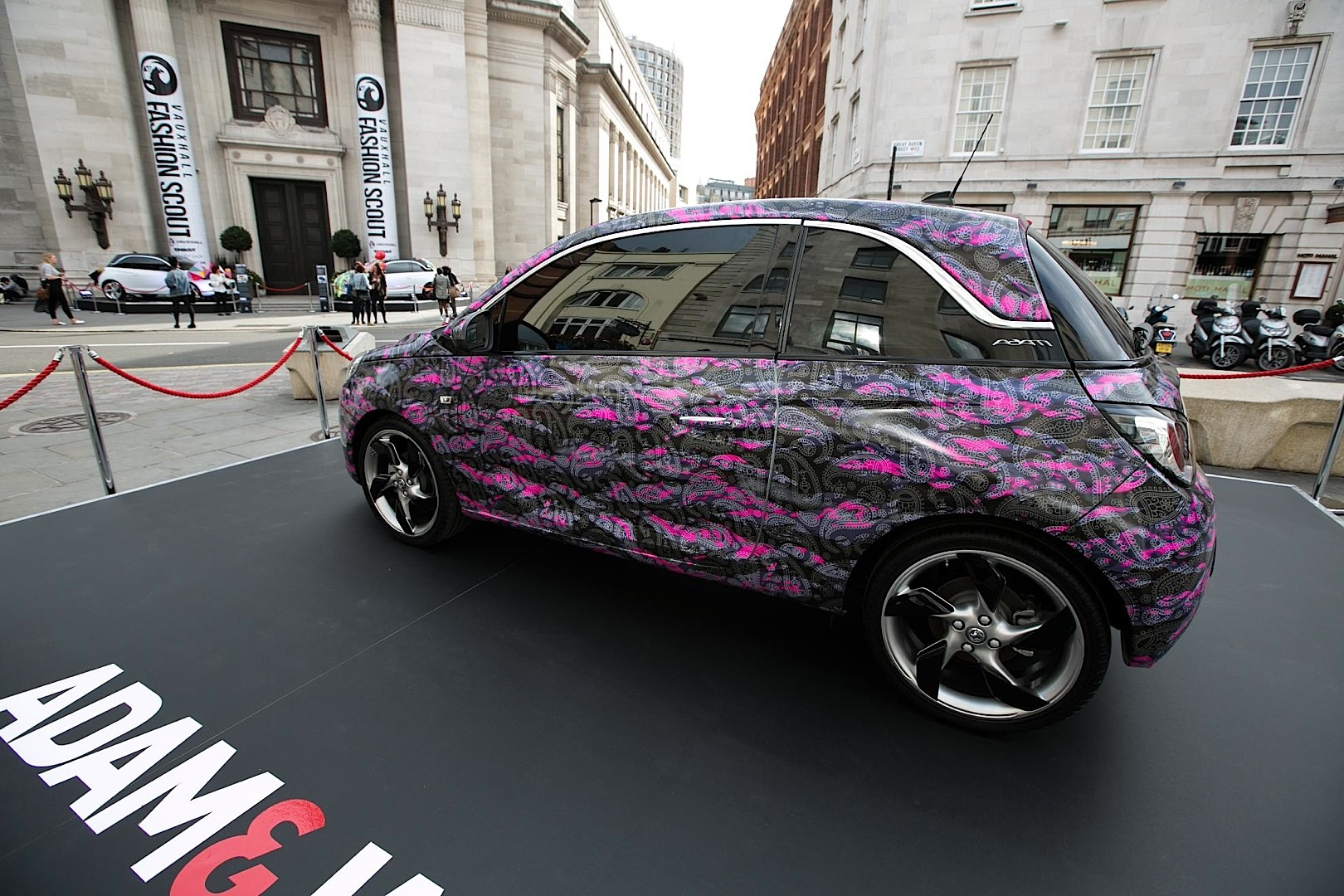 Vauxhall  Opel Adam Gets 3 OneOff Fashion Editions