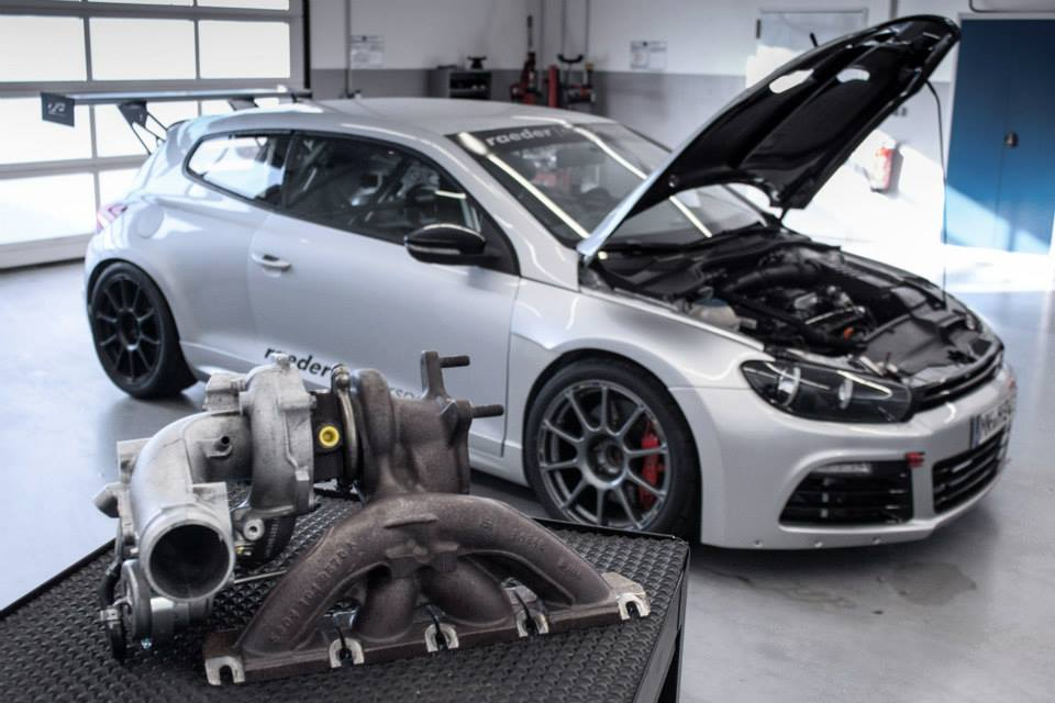 VW Scirocco R Stage 4 by McchipDKR Has 388 HP  autoevolution
