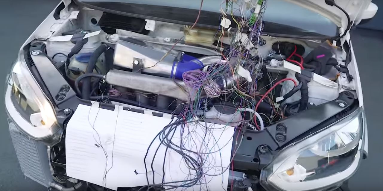 hight resolution of  awv wiring harness comparison on 2004 vw up gets audi tt 1 8t engine with flaming exhaust