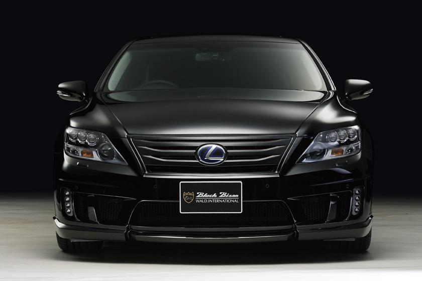 Wald International Darkens the Lexus LS600h  autoevolution