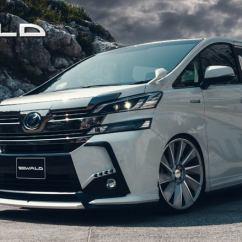 All New Vellfire Spesifikasi Toyota Grand Veloz 1.3 Wald International's Exterior Kit For The ...