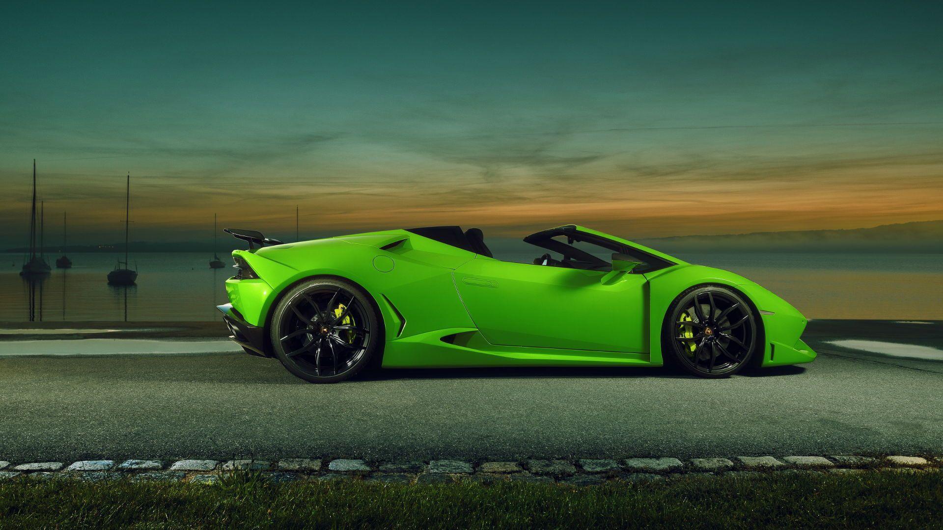 Widebody Lamborghini Huracan Spyder By Novitec Has 860 HP