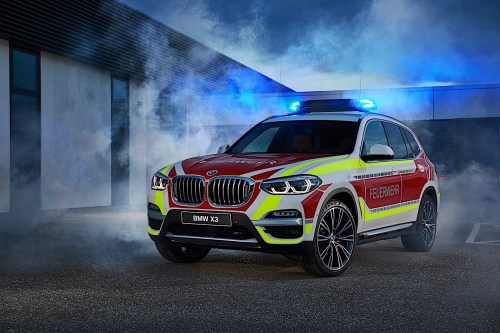 small resolution of bmw x3 xdrive20d fire service command