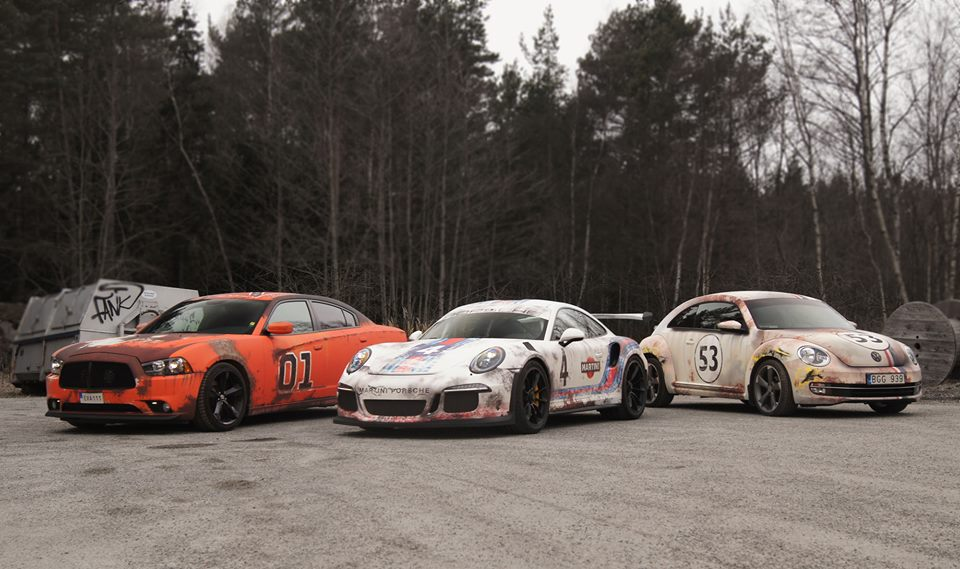 Worn Out Martini Livery Porsche 911 GT3 RS Has Awesome