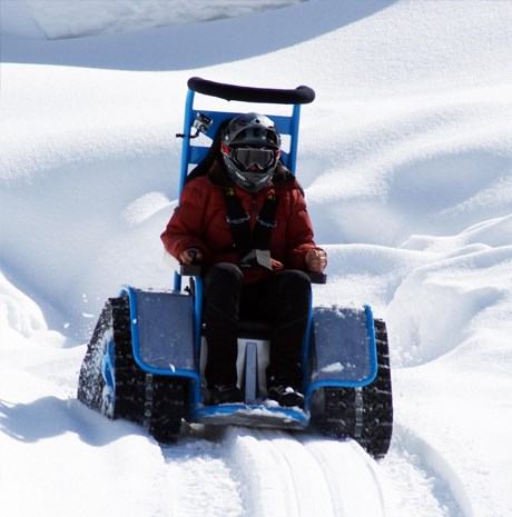 Ziesel Personal Electric Snow Tracker  autoevolution