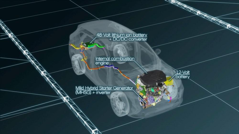 medium resolution of here s how the hyundai mild hybrid 1 6 crdi turbo diesel works