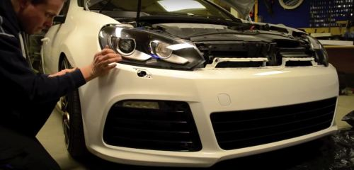 small resolution of how to install a golf r bumper on a mk6 gti