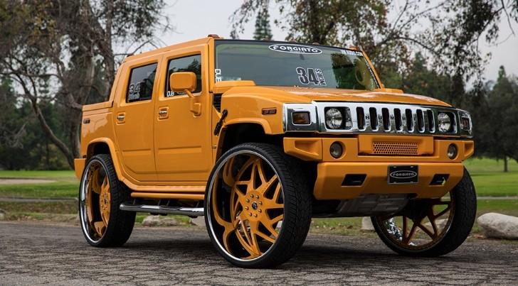 Hummer on 34Inch Forgiato Wheels Deserves the Bad Kind of