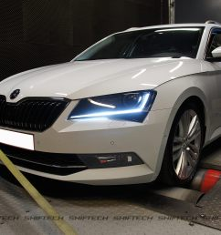 is a tuned skoda superb with 353 hp as cool as the audi s4 avant  [ 2000 x 1337 Pixel ]