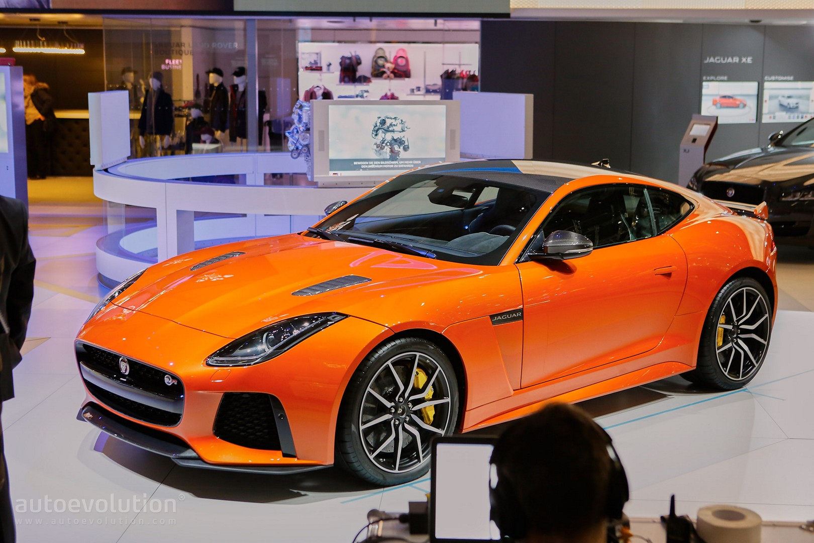 Jaguar F Type SVR Coupe And Convertible Show The True